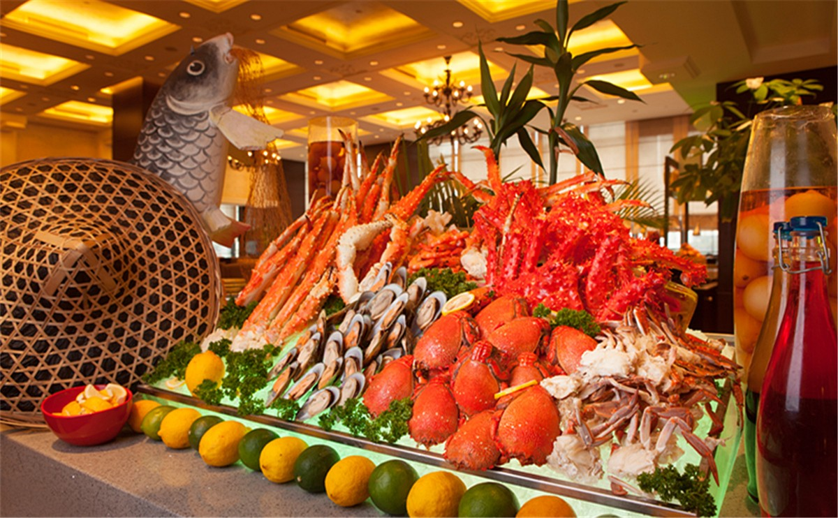 海鲜自助晚餐