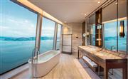 豪华海景套房 - 浴室