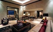 總統套房 - 面積達234平方米,只設1間。包括獨立客廳、飯廳、茶水間、洗手間及睡房,落地玻璃窗讓客