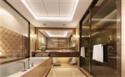 希尔顿客房-浴室
