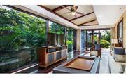 奢华园景泳池别墅–双卧室