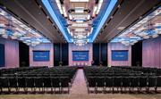 康莱德宴会厅配备9米x5米的P3 LED彩屏和两块可移动7米x4米的P2 LED彩屏。