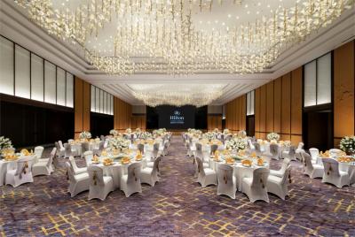 850平米的大宴会厅,配备45平米LED显示屏