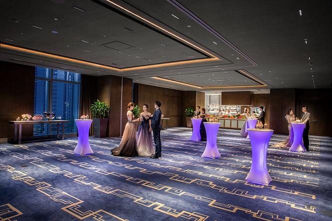 灵活的场地配置满足会议及婚庆的不同要求