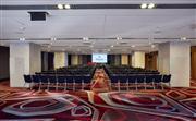 酒店四層的會議空間靈活多變,可以從一個大的開放式展覽布置轉變成劇院式發布會布置。